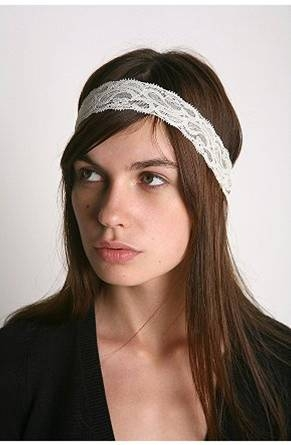Also known as a hippie headband these are popping up all over the place